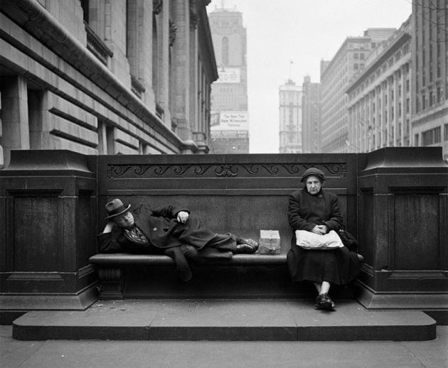 odpoczynek na ławce