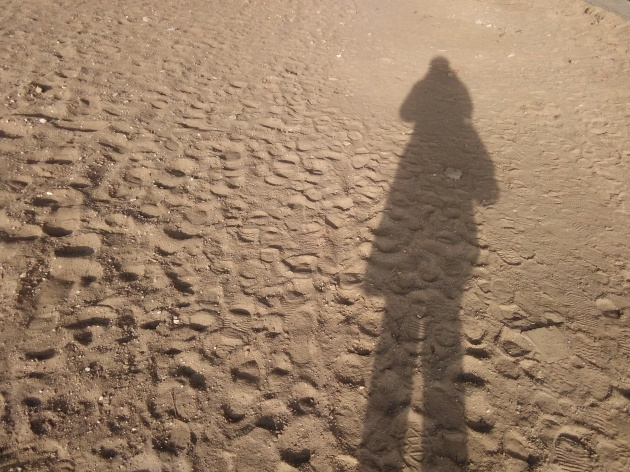 w drodze piasek